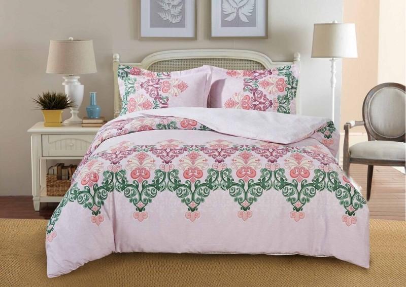 Комплект постельного белья Paisley collection Розовый шербет (сатин)