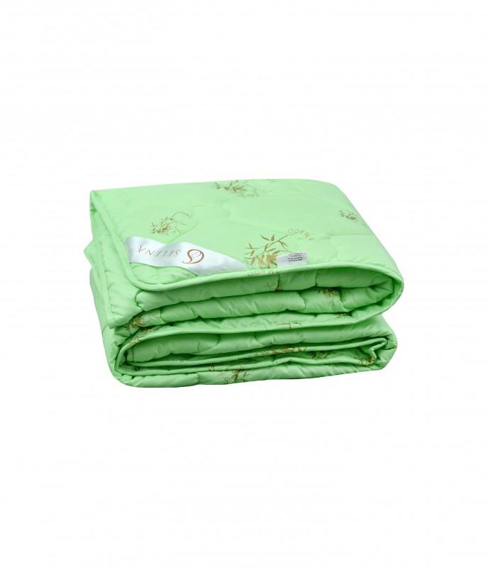 Одеяло SELENA Акварель 1,5 спальный, 140x205, Всесезонное, с наполнителем Бамбуковое волокно