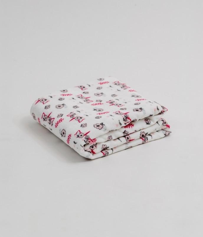 Плед (диз.2) 100х140 (см) (Velsoft) в сумке