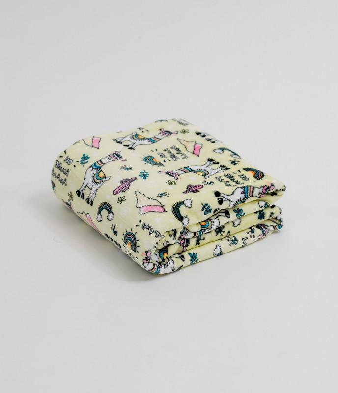 Плед (диз.1) 100х140 (см) (Velsoft) в сумке