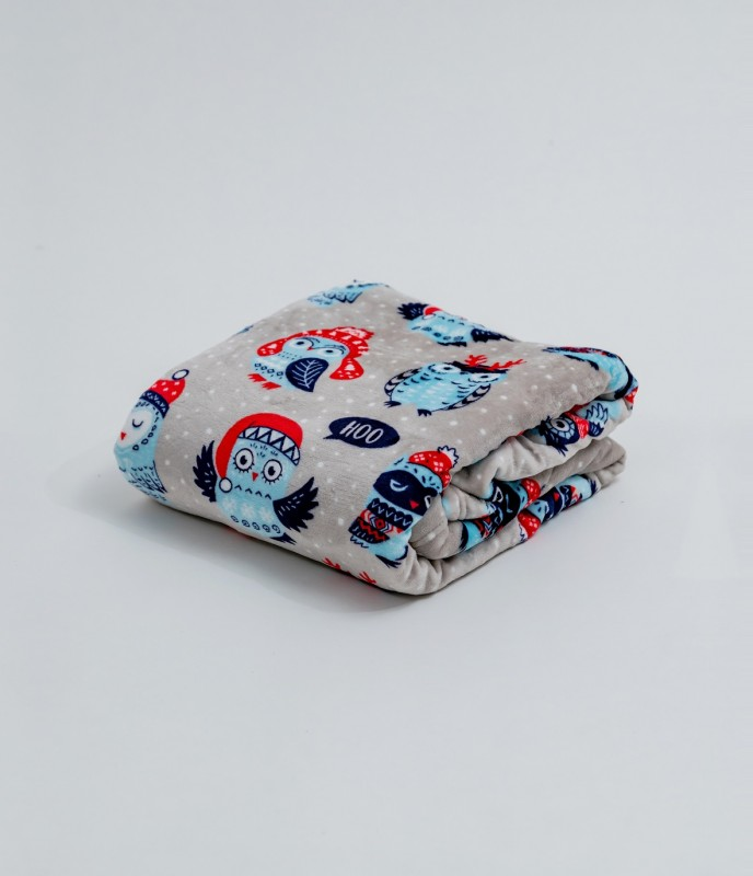 Плед (диз.3) 100х140 (см) (Velsoft) в сумке